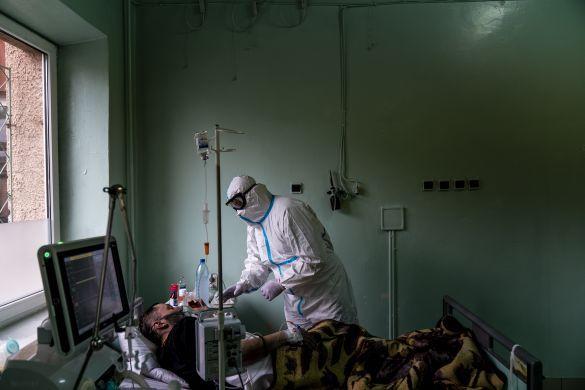коронавірус, лікарня в Чернівцях