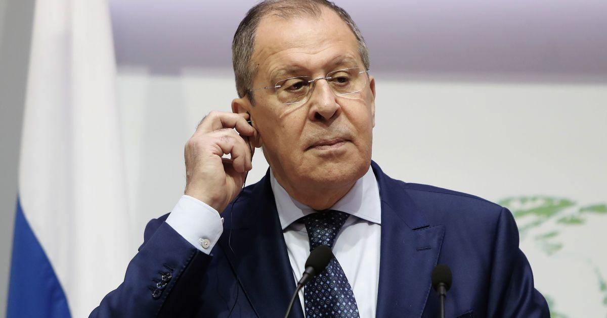 Лавров заявив, що росіянам заборонять працювати в дипломатичних відомствах США в Росії