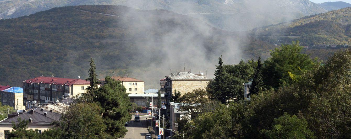 Алієв заявив, що азербайджанська армія звільнила вісім населених пунктів у районі Нагірного Карабаху