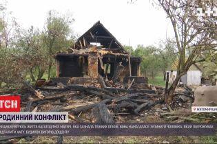 В Житомирской области семейная ссора закончилась пожаром и больничной койкой