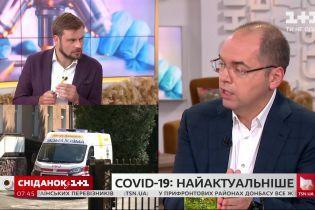 Максим Степанов про ситуацію із заповненістю лікарень, тестами на ковід та швидкими