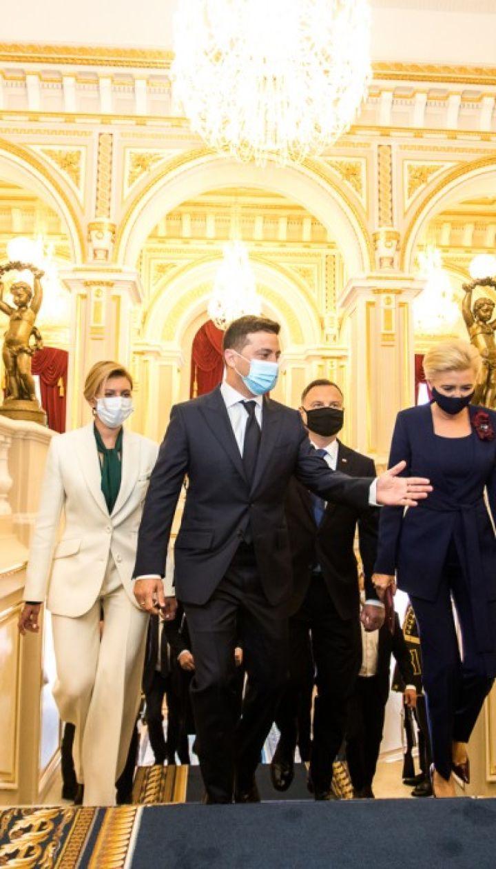 Елена Зеленская и Агата Корнхаузер-Дуда