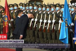 Зеленські у Маріїнському палаці приймають президента Польщі - про що домовляються