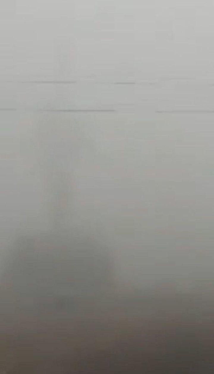 Густой туман на несколько часов парализовал Николаев