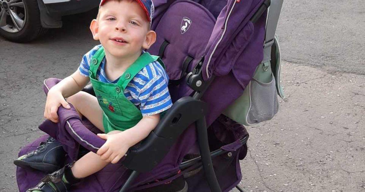 Генетична вада не дає Богданчику розвиватись, малюку потрібна допомога