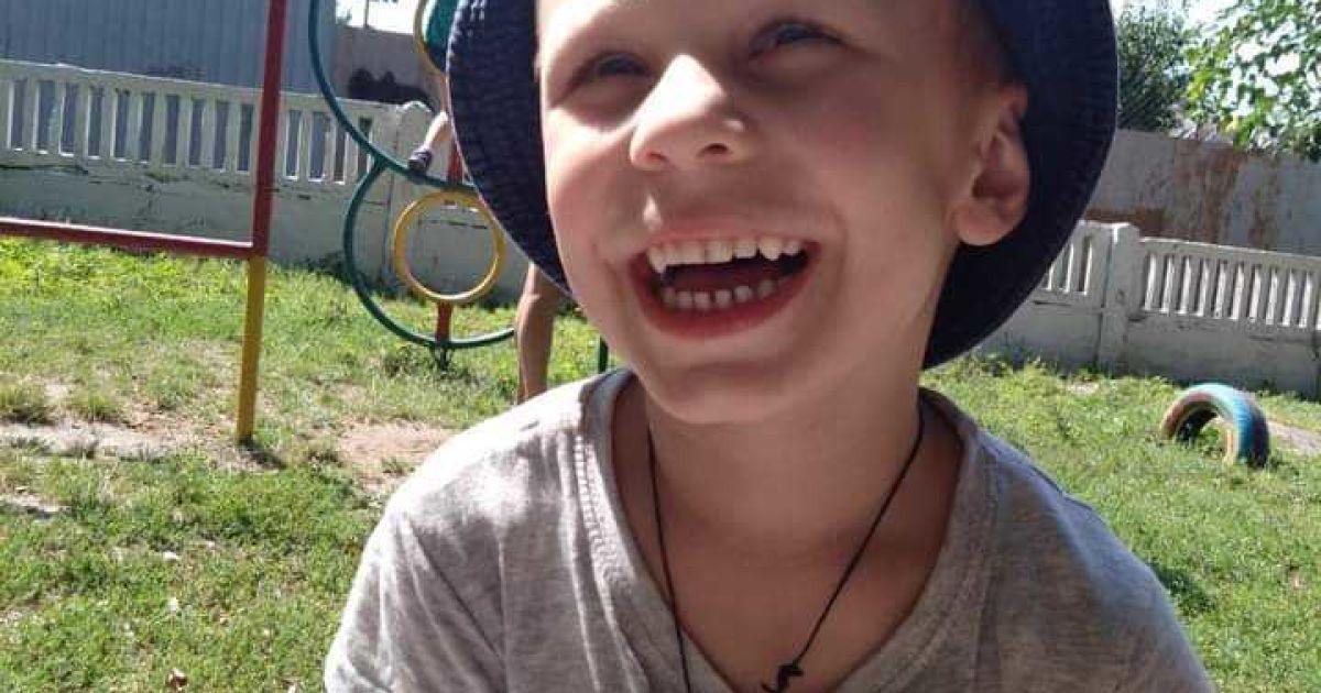 Батьки Сергійка просять про допомогу на реабілітацію сина