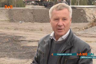 У Черкаській області траса поділила село навпіл