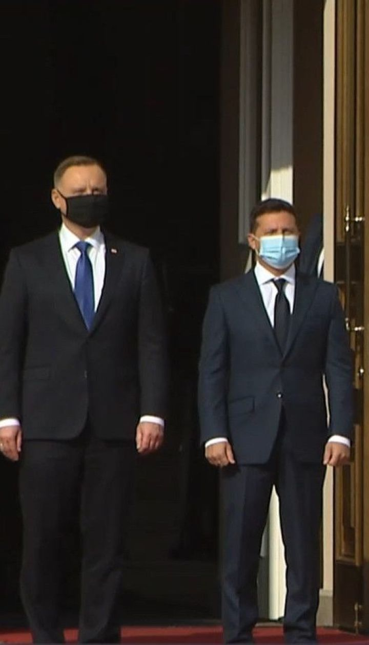 Президенты Украины и Польши подписали совместное политическое заявление и отправляются в Одессу