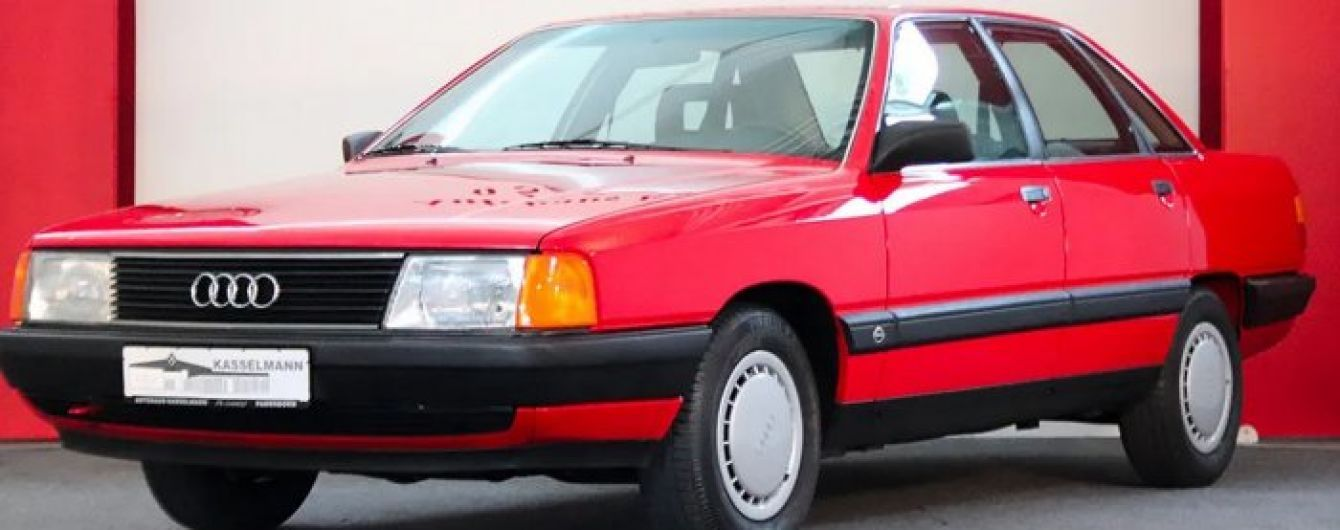 В Германии выставили на продажу культовую модель Audi 1989: названа стоимость
