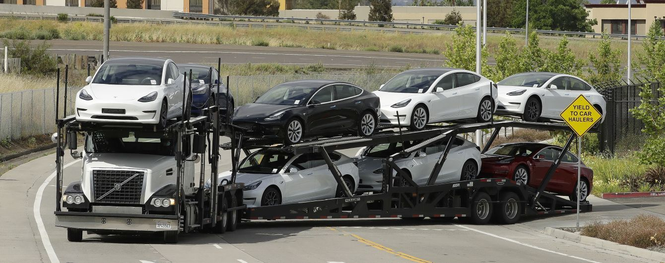 Tesla может установить исторический рекорд по производству электрокаров
