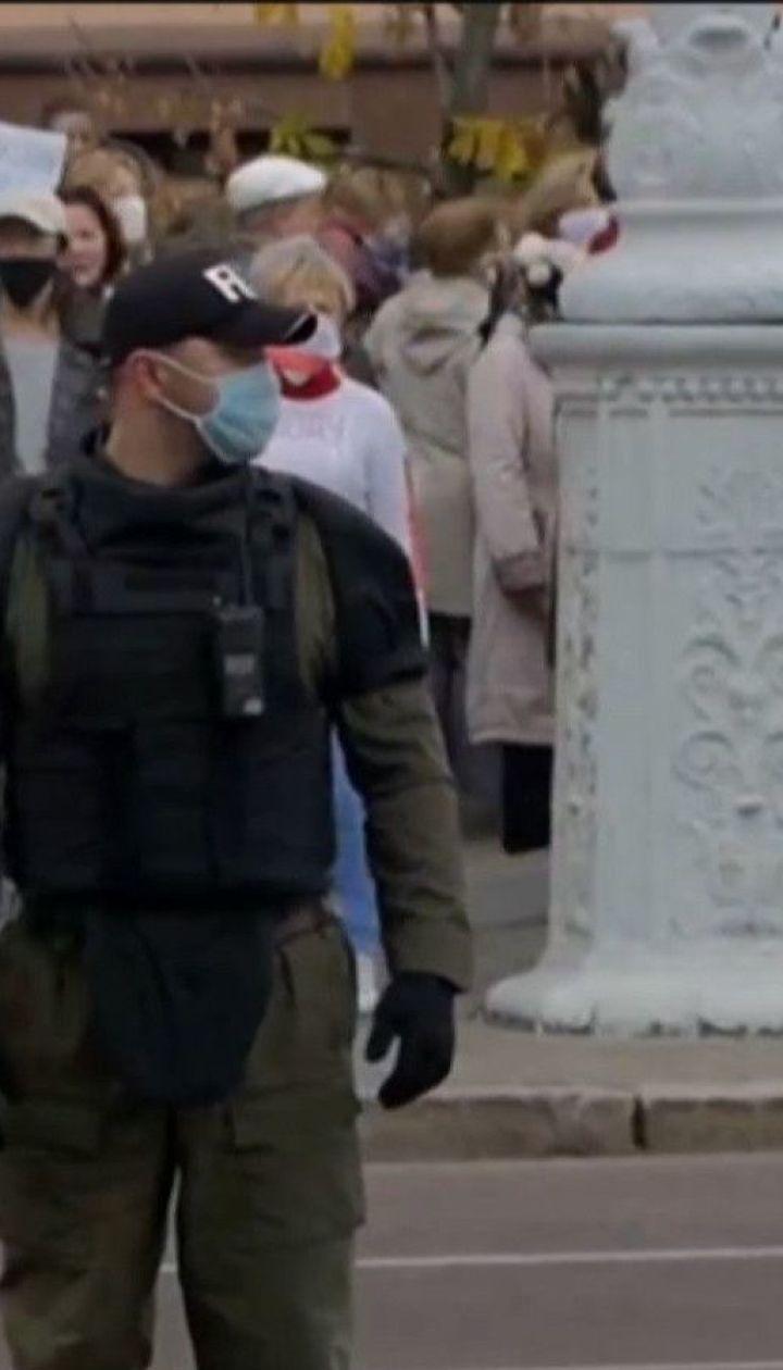 Масові затримання у Білорусі: лише у Мінську заарештували майже 7 десятків людей