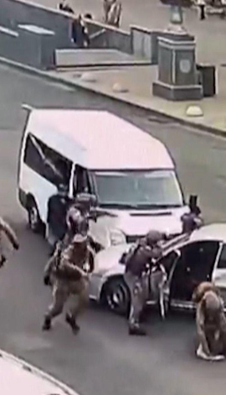На Крещатике в Киеве задержали группу разбойников