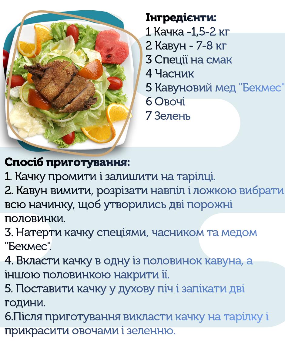 качка, рецепт