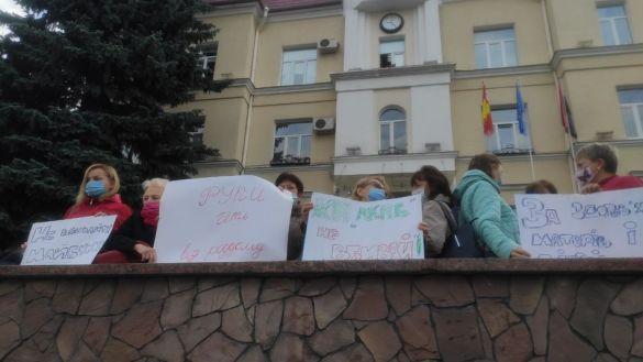 Протест лікарів у Луцьку_4