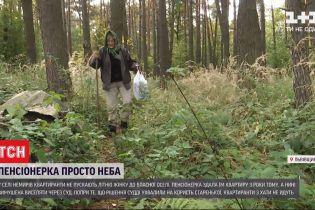 Выгнали из собственного дома: во Львовской области пенсионерка живет в лесу из-за квартирантов