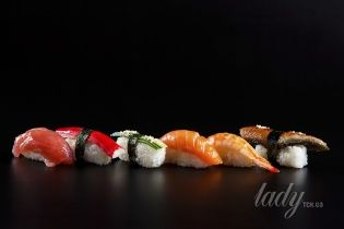Какие суши нужно есть, чтобы похудеть