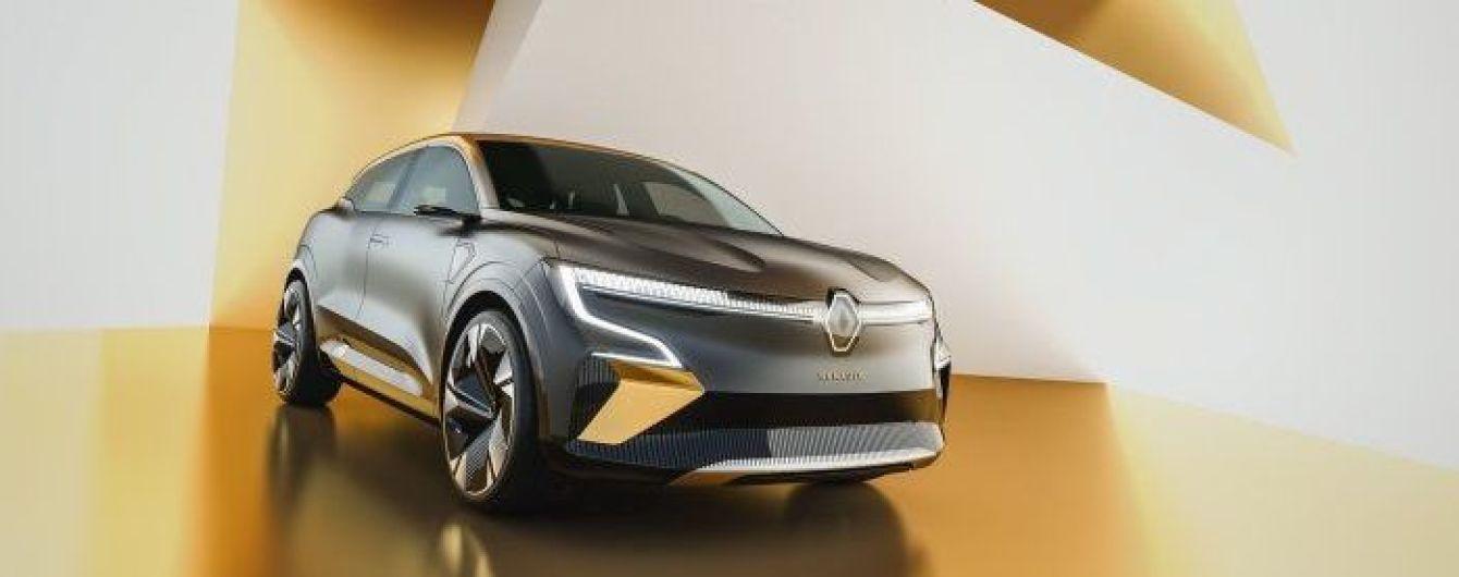 Электрический кроссовер Renault Megane eVision представлен официально: фото и видео