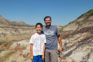 Удивительное открытие: 12-летний канадец нашел кости редкого динозавра