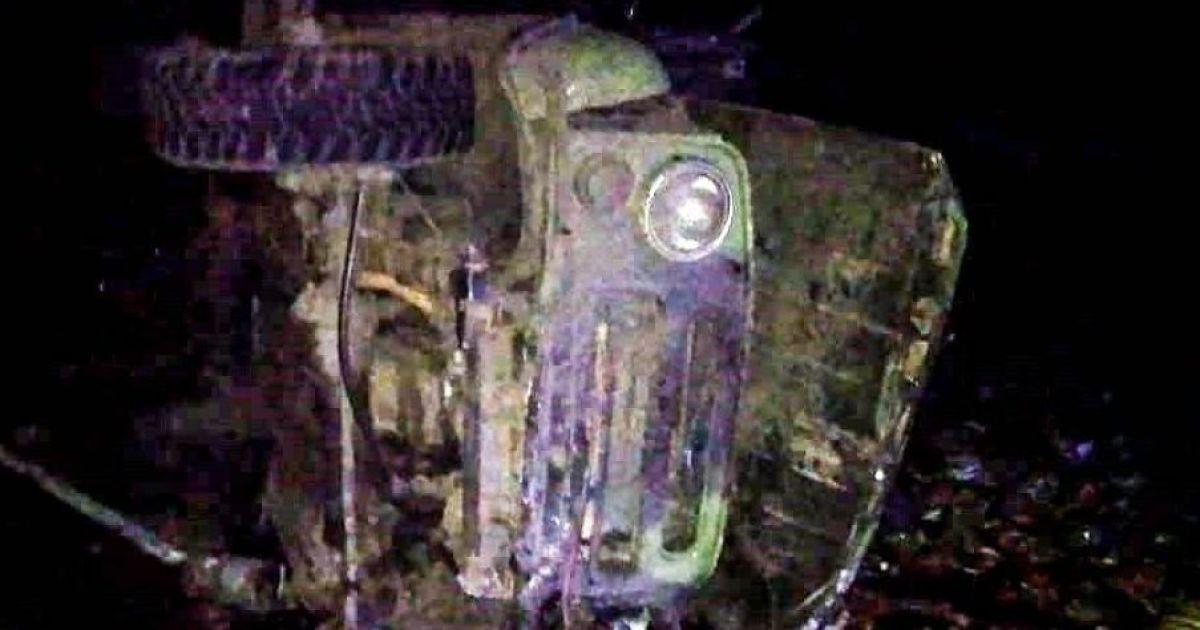 В Херсонской области столкнулись две легковушки и грузовик: есть погибший