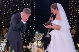 Слезы жениха и концерт Сердючки: как прошла роскошная свадьба Остапчука и Горняк