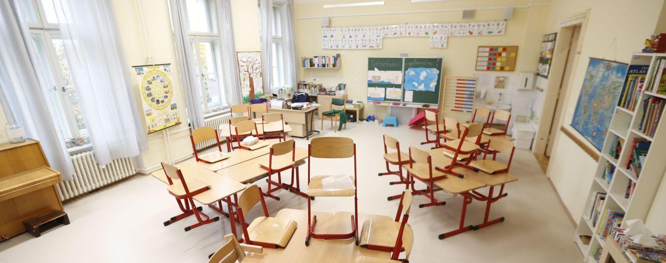 У Києві через випадки коронавірусу закрили вісім шкіл та три дитячих садки