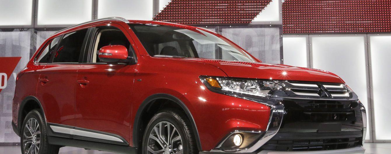Mitsubishi оприлюднив перше офіційне зображення нового Outlander