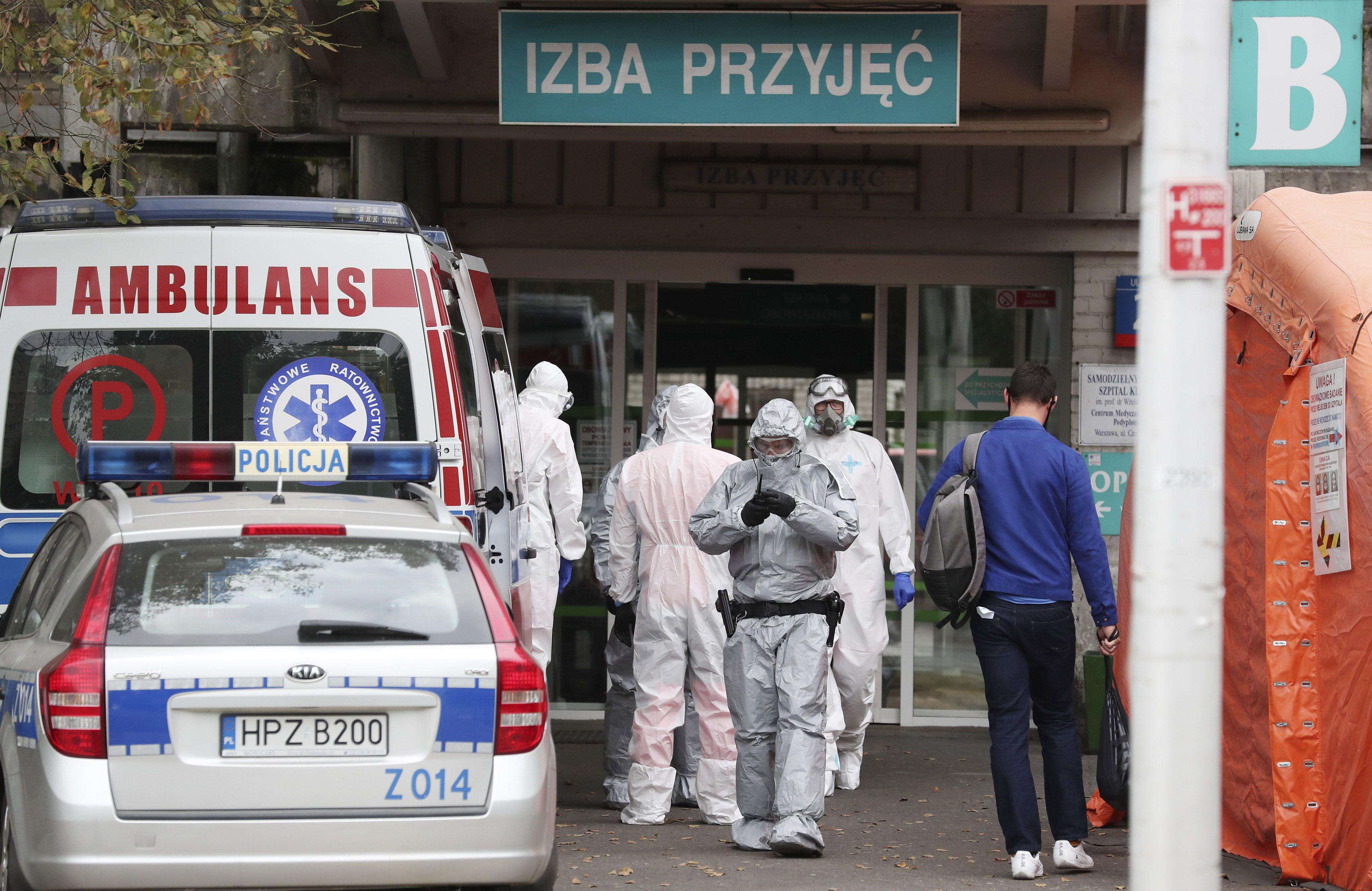 Коронавірус у Польщі