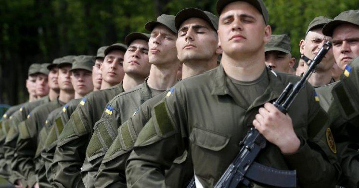 В Украине стартовал осенний призыв