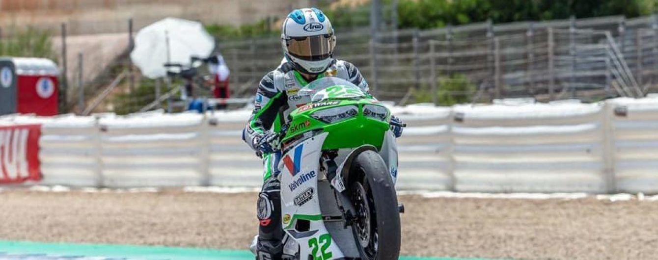 Украинский мотогонщик впервые в истории выиграл этап Чемпионата мира