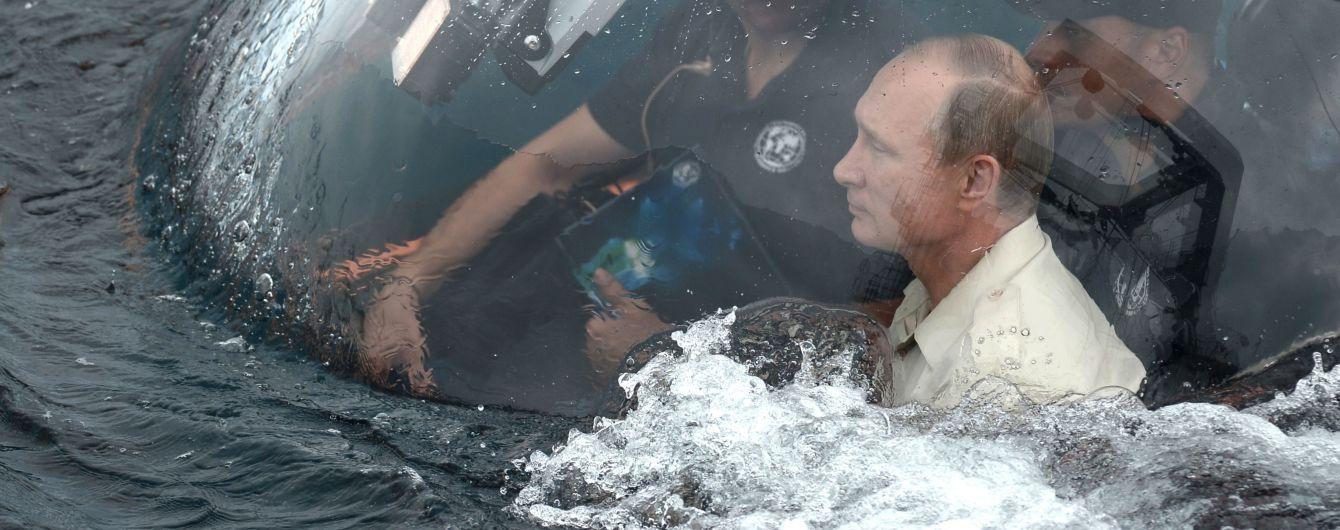 Крымские воды видели существ уродливее: Украина потроллила Путина
