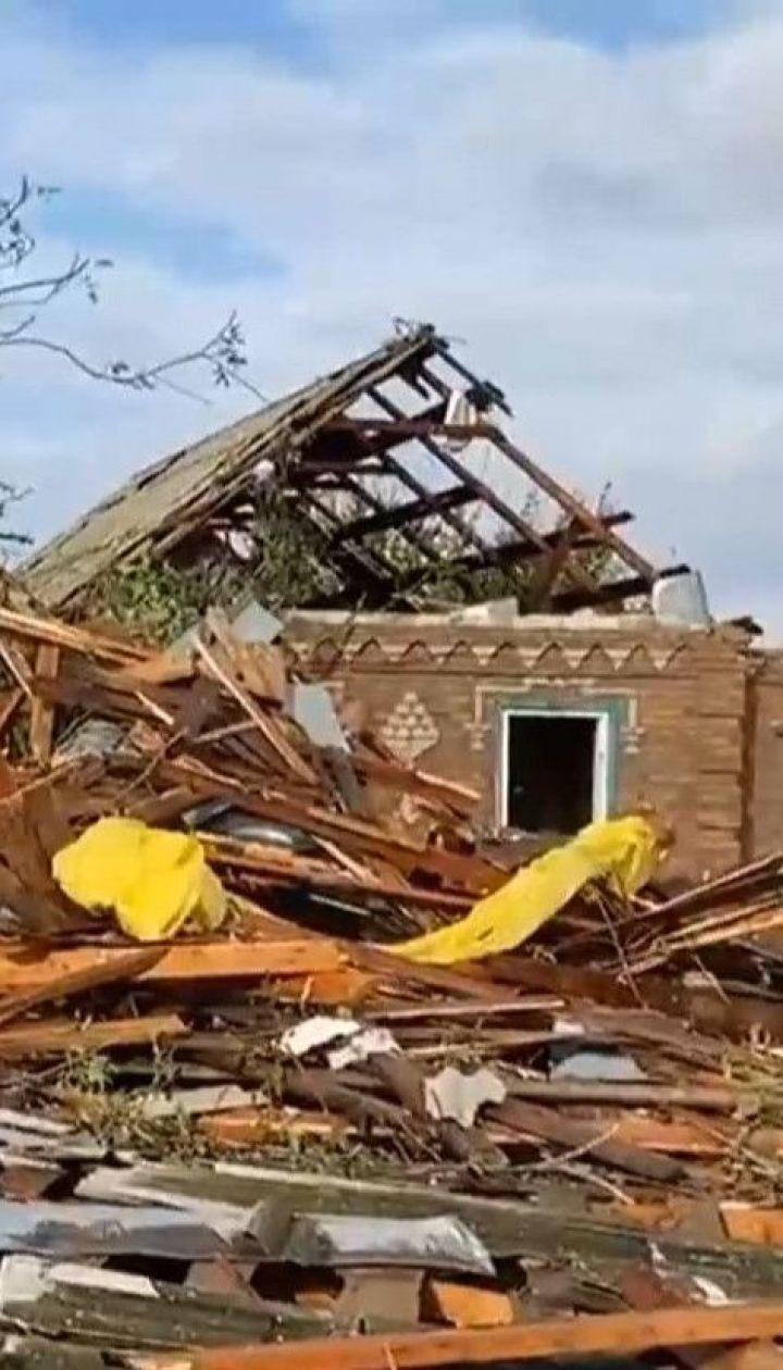 ТСН сняла последствия непогоды в городах Украины