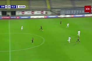 Заря - Колос - 1:0. Видео гола Кочергина