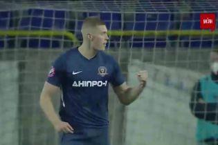 Днепр-1- Десна - 2:0. Видео гола с пенальти Довбика