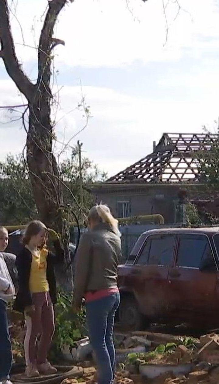 У Кропивницькому ліквідують наслідки негоди, що налетіла на місто вихідними