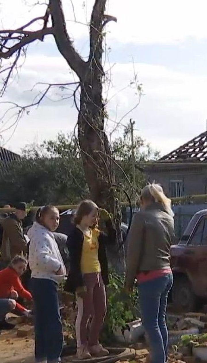 В Кропивницкому ликвидируют последствия непогоды, которая налетела на город выходными