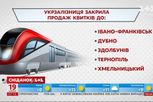 """В какие города """"Укрзализныця"""" с 19 октября закрывает продажу билетов – экономические новости"""