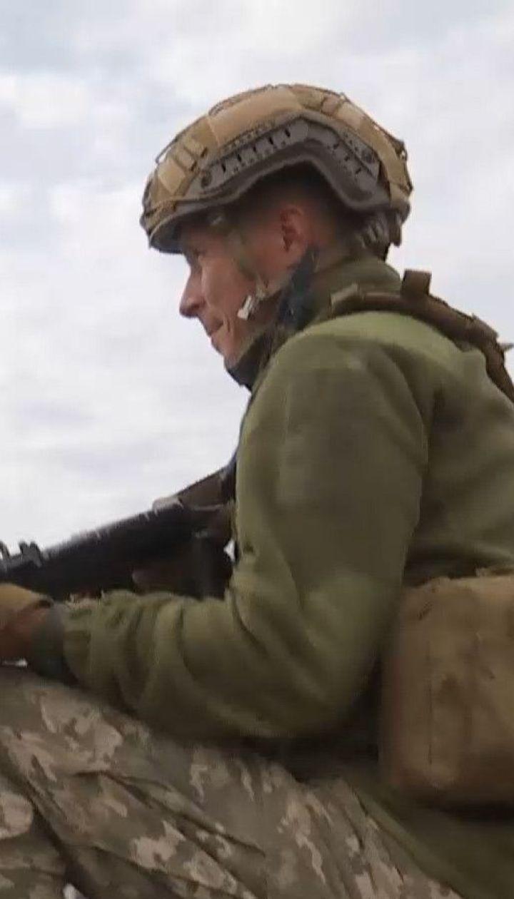 На приморском участке фронта оккупанты выпустили по украинским позициям более 20 гранат