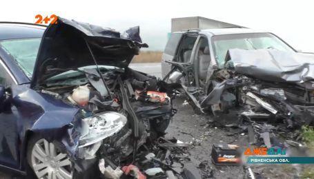 У Рівненській області трапилася смертельна аварія