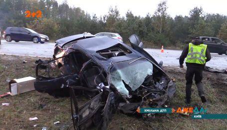 Поблизу Києва підхмелений водій вискочив на зустрічну смугу та створив аварію