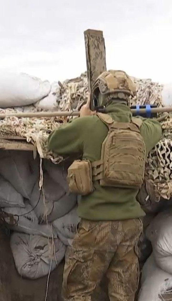 На Приазовье вражеские боевики выпустили по украинским позициям более 20 гранат