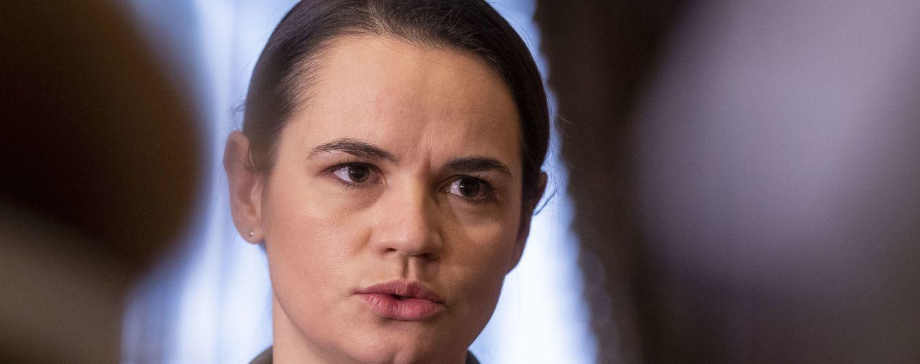 Тихановская рассказала об отношении к аннексии Крыма Россией