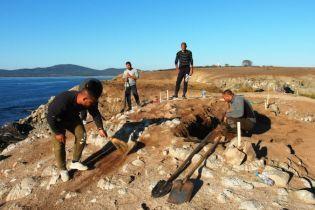 На острове в Черном море нашли древнегреческий храм
