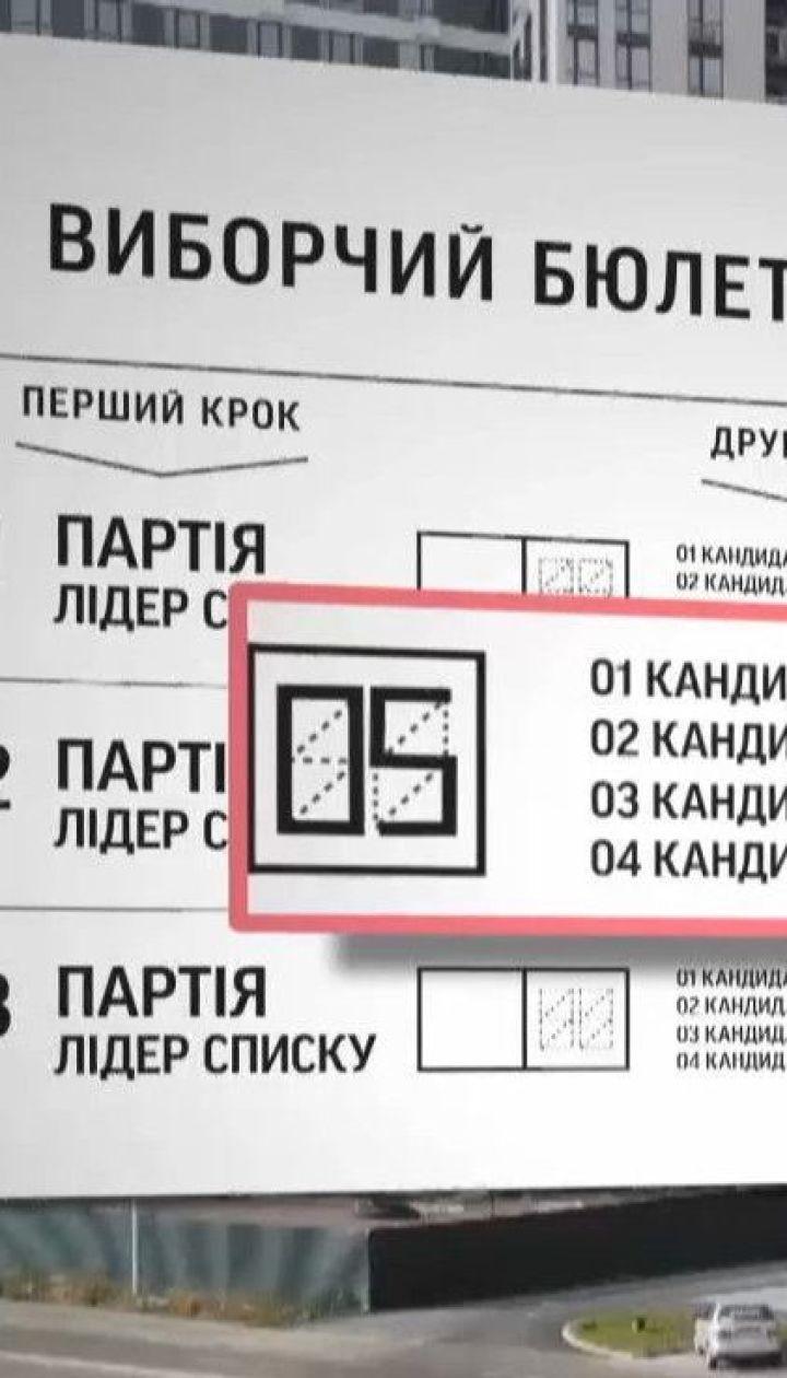 """""""Місцеві вибори"""": як правильно заповнювати бюлетень"""