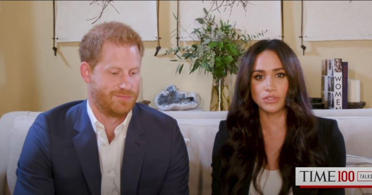 Принц Гаррі та Меган взяли участь в онлайн-саміті журнала Time просто зі свого особняка