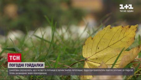 Прогноз погоды: в последние рабочие дни недели ожидается потепление