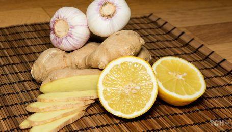 Чим важливі лимон, часник та імбир під час застуди