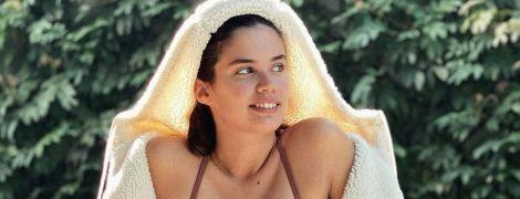 """Така мила: """"ангел"""" Сара Сампайо показала обличчя абсолютно без макіяжу"""