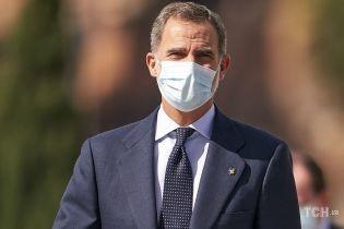 На работе без Летиции: испанский король Филипп VI прибыл в Валенсию