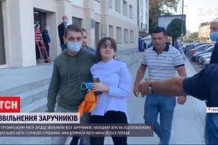 Захоплення заручників у банку Грузії: що відомо про стан звільнених людей