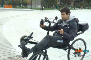 Необычный велосипед: почему сам создатель учился на нем ездить несколько недель